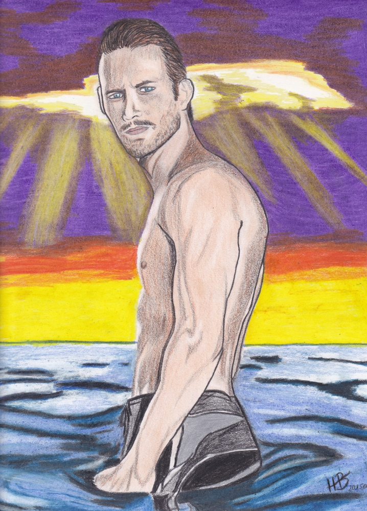 Paul Walker by biahorvath8